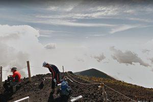 富士山のGoogleマップ