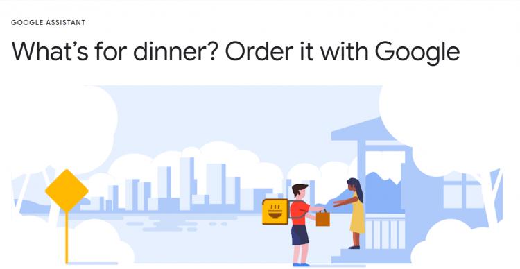 Googleデリバリー