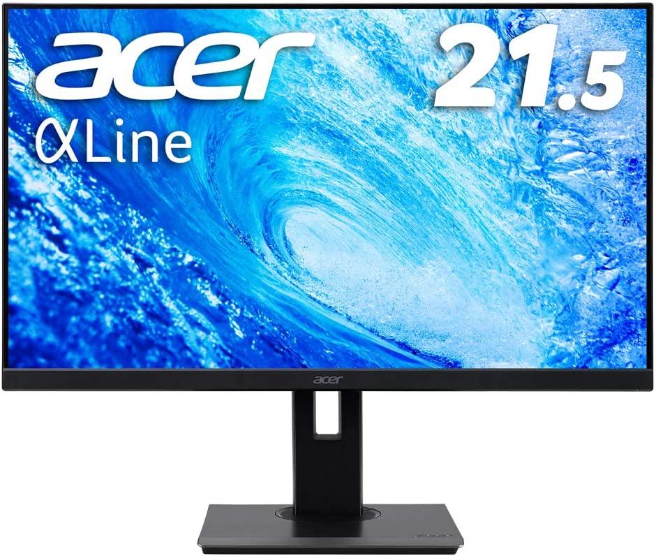 21.5インチ(Acer モニター ディスプレイ AlphaLine 21.5インチ B227Qbmiprzx)